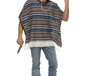 Adult Authentic Striped Poncho (39392)