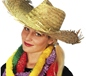 Beachcomber Hawaiian Straw Hat Straw (97481)