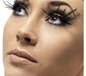 Black Feather Plume Eyelashes (34983)