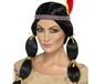 Ladies Black Indian Wig (42449)