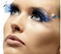 Blue Feather Plume Eyelashes (34990)