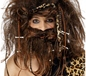 Caveman Wig And Beard Set (42079)