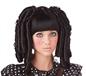 Childrens Black Baby Doll Curls Wig (70692)