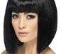 Coquette Wig Black (42093)