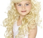 Curly Princess Childrens Blonde Wig (42131)