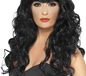 Adult Black Siren Wig (42258)
