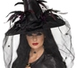 Adult Deluxe Black Witch Hat (33786)