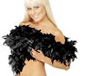Deluxe Boa Black Feather (38301)