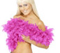 Deluxe Boa Shocking Pink Feather (38308)