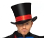 Deluxe Mens Velvet Top Hat (2143)