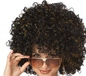 Disco Black with Gold Tinsel Wig (70013)