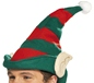 Elf Hat Green With Red Stripes (21469)