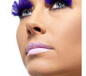 Purple Feather Eyelashes (36523)