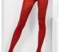Fever Red Opaque Tights (27135)