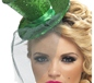 Fever Mini Dark Green Top Hat (21296)