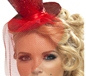 Fever Mini Red Top Hat (21298)