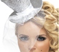 Fever Mini Silver Top Hat (21192)