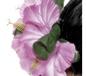 Flower Hawaiian Hair Clip Pink (21738)