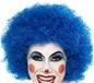 Crazy Clown Wig Blue (42083)