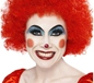 Crazy Clown Wig Red (42089)