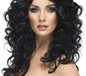 Glamour Wig Black (42149)