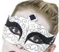 Adult Gothic Swan Eyemask (27318)
