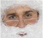 Half Moon Santa Specs Metal Frame (98014)
