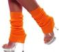 Leg Warmers Neon Orange (31048)