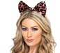 Cheetah Bow on Headband (24871)