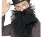 Adult Black Long Beard And Tash (22832)