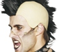 Mohican Wig With Rubber Bald Headpiece Black (42210)