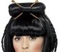 Oriental Lady Black Wig (42218)