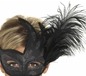 Ornate Black Columbina Eyemask (40024)