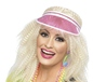 Adult 80s Pink Poker Visor (23541)
