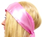Pink Satin Headscarf (210301-3)