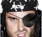 Pirate Eye Patch Black (613)