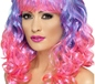 Purple and Pink Divatastic Wig (42399)