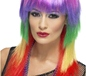 Rainbow Rocker Wig (42463)