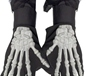 Raised Skeleton Bones Gloves (22149)