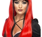 Adult Red and Black Bewitching Wig (20317)