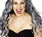 Adult Renaissance Vampire Wig Black (29243)