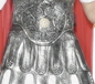Roman Soldiers Skirt Armour Silver (25323)