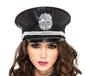 Deluxe Sequin Cop Hat (A1956)