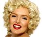 Short Marilyn Monroe Wig Blonde (42207)