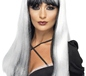 Adult White and Black Bewitching Wig (20246)
