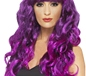 Adult Purple & Black Siren Wig (42266)