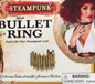 Steampunk Bullet Ring (66261)