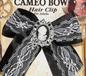 Steampunk Cameo Hair Clip (66304)