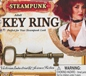 Steampunk Key Finger Ring (66249)