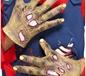 Decaying Zombie Gloves (27843)